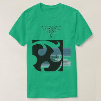 Green Surfing Tee shirt for men