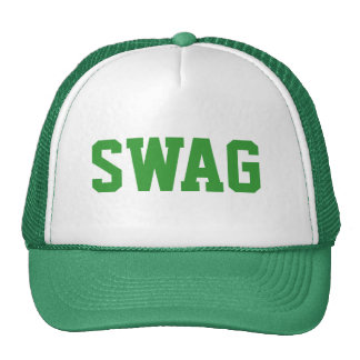 green swag snapback trucker hat