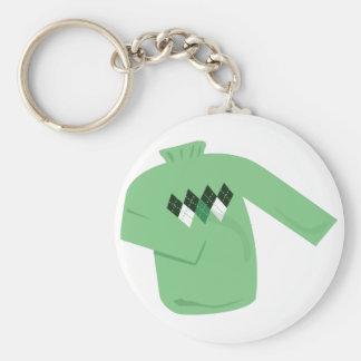 Green Sweater Keychain