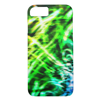 Green Swirl 6 Phone Case