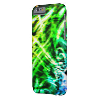 Green Swirl 6 Phone Case