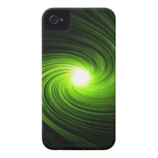 Green swirl abstract. iPhone 4 Case-Mate cases
