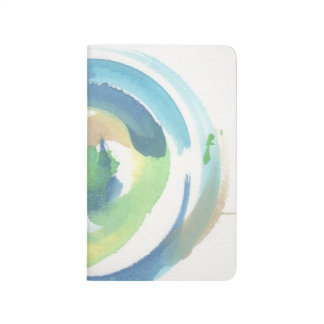 Green Swirl Notebook