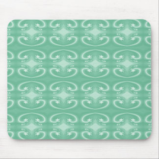 Green Swirl Pattern. Mouse Mat