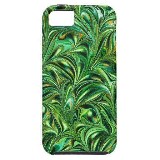 Green Swirl - SRF iPhone 5 Case