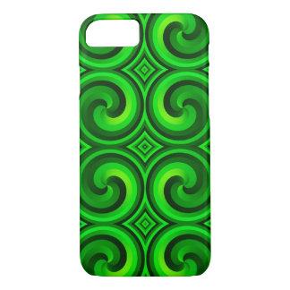 Green Swirls Case