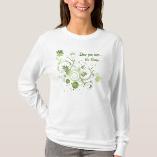 Green Swirls T-Shirt