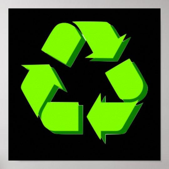 Green Symbol Poster