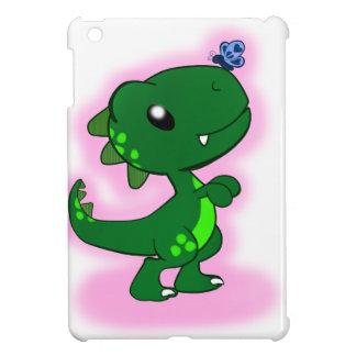 Green T-Rex iPad Mini Cover