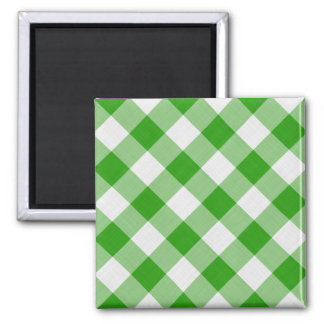 green table cloth refrigerator magnets