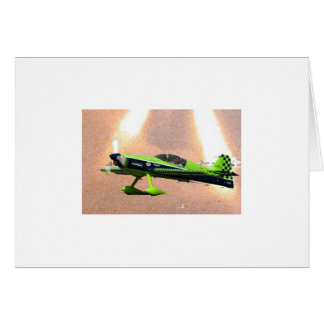 GREEN TAILDRAGGER STATIONERY NOTE CARD