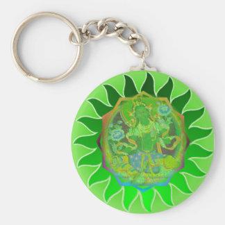 Green Tara Keychain