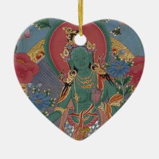 Green Tara Ornament