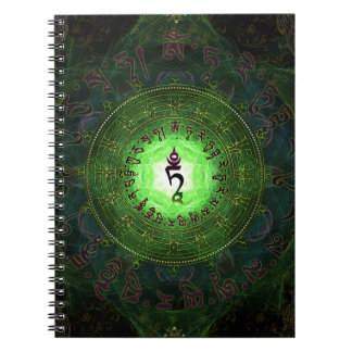Green Tara - Protection from dangers and suffering Notebook