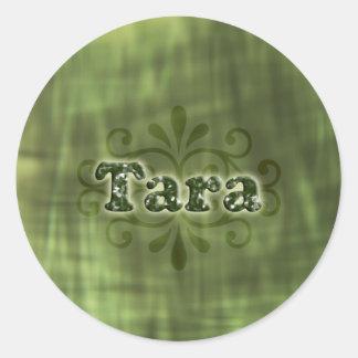 Green Tara Round Sticker