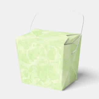 Green Tea Favour Box