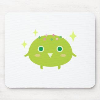 Green Tea Ice Cream Mouse Pad