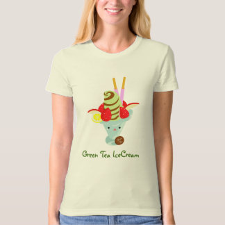 Green Tea Ice Cream T-Shirt