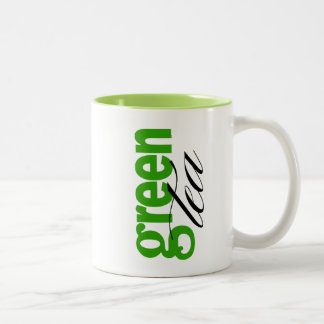 Green Tea Two-Tone Coffee Mug