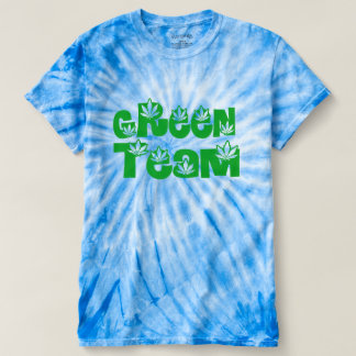 Green team weed lovers t-shirt design