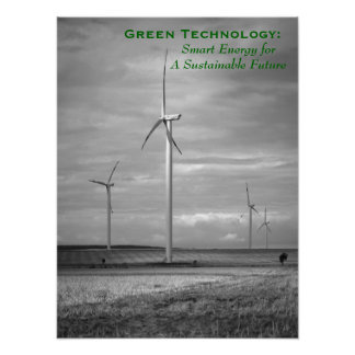 Green Technology: Smart Energy Poster