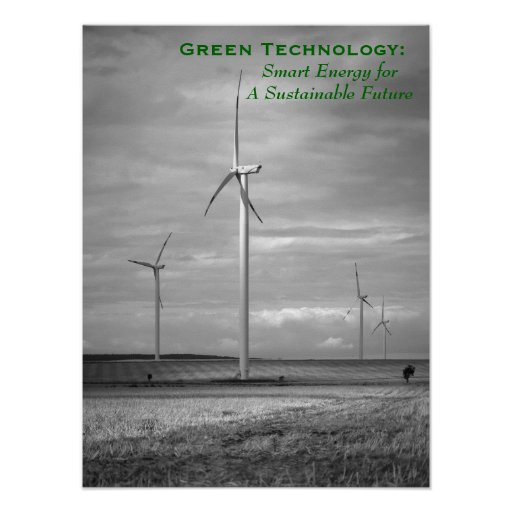 Green Technology: Smart Energy Posters