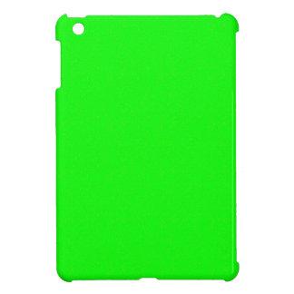 GREEN TEMPLATE easy add TEXT n PHOTO match wall iPad Mini Case