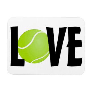 Green Tennis Ball LOVE Magnet