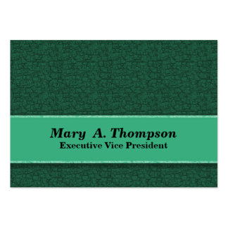 Green Texture Pack Of Chubby Business Cards
