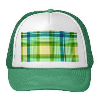 Green Texture Stripes Beautiful Cap