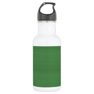 GREEN Texture Template DIY easy add TEXT PHOTO jpg 532 Ml Water Bottle