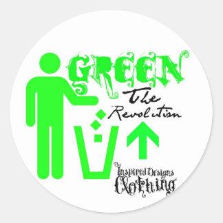 Green: The Revolution Stickers