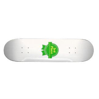 Green Third Place Ribbon Skateboard Decks