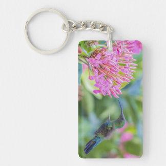 Green Throated Carib Hummingbird Keychain