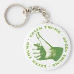 Green Thumb Keychain