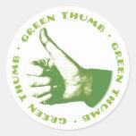 Green Thumb Stickers