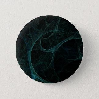 Green Tick Tock 6 Cm Round Badge