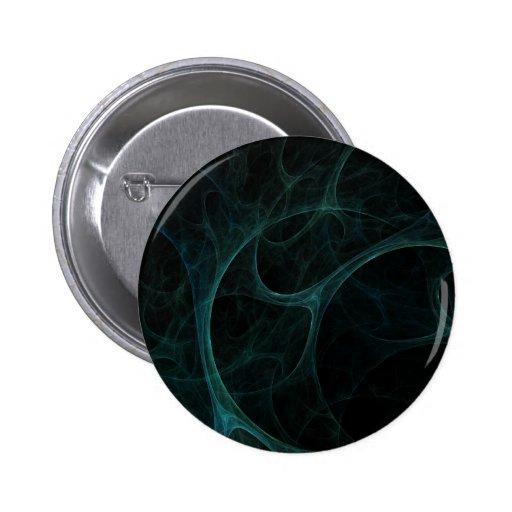 Green Tick Tock Pinback Button