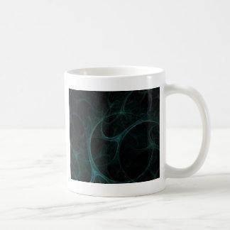 Green Tick Tock Basic White Mug
