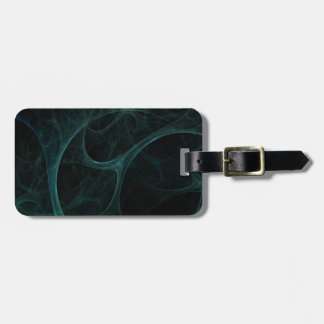 Green Tick Tock Luggage Tag