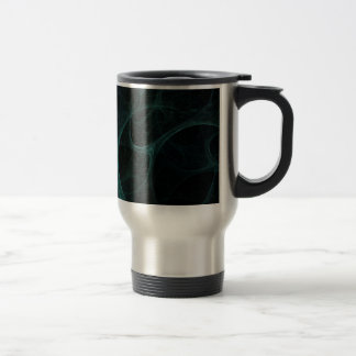 Green Tick Tock Stainless Steel Travel Mug