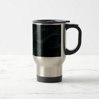 Green Tick Tock Stainless Steel Travel Mug