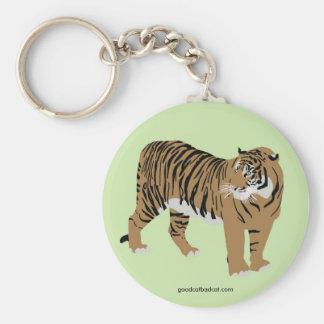 Green Tiger Keychain