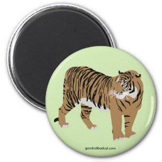 Green Tiger Magnet