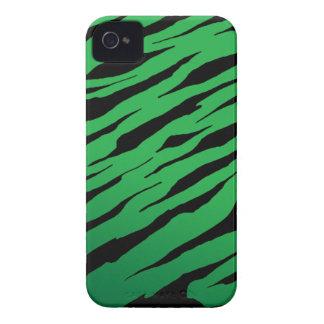 Green Tiger Stripe iPhone4/4S Cases Case-Mate iPhone 4 Case