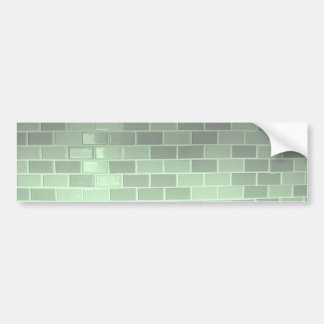 Green Tile Photography Bumper Sticker