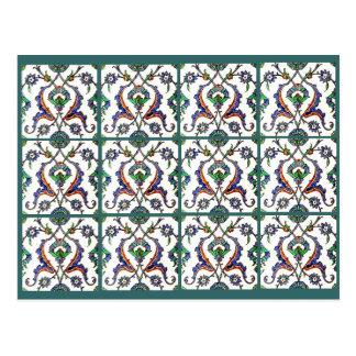 Green Tile-Turkey Postcard