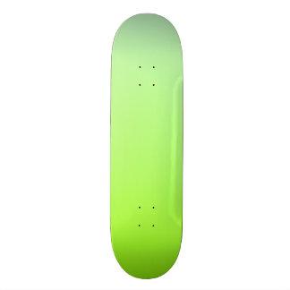 Green tint Skateboard Deck