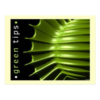 Green Tips Postcard