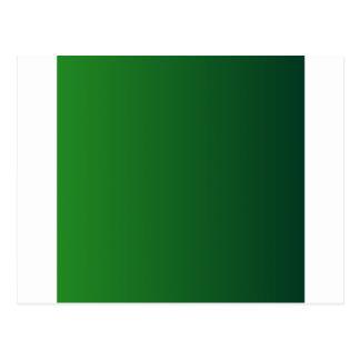 Green to Dark Green Vertical Gradient Postcard